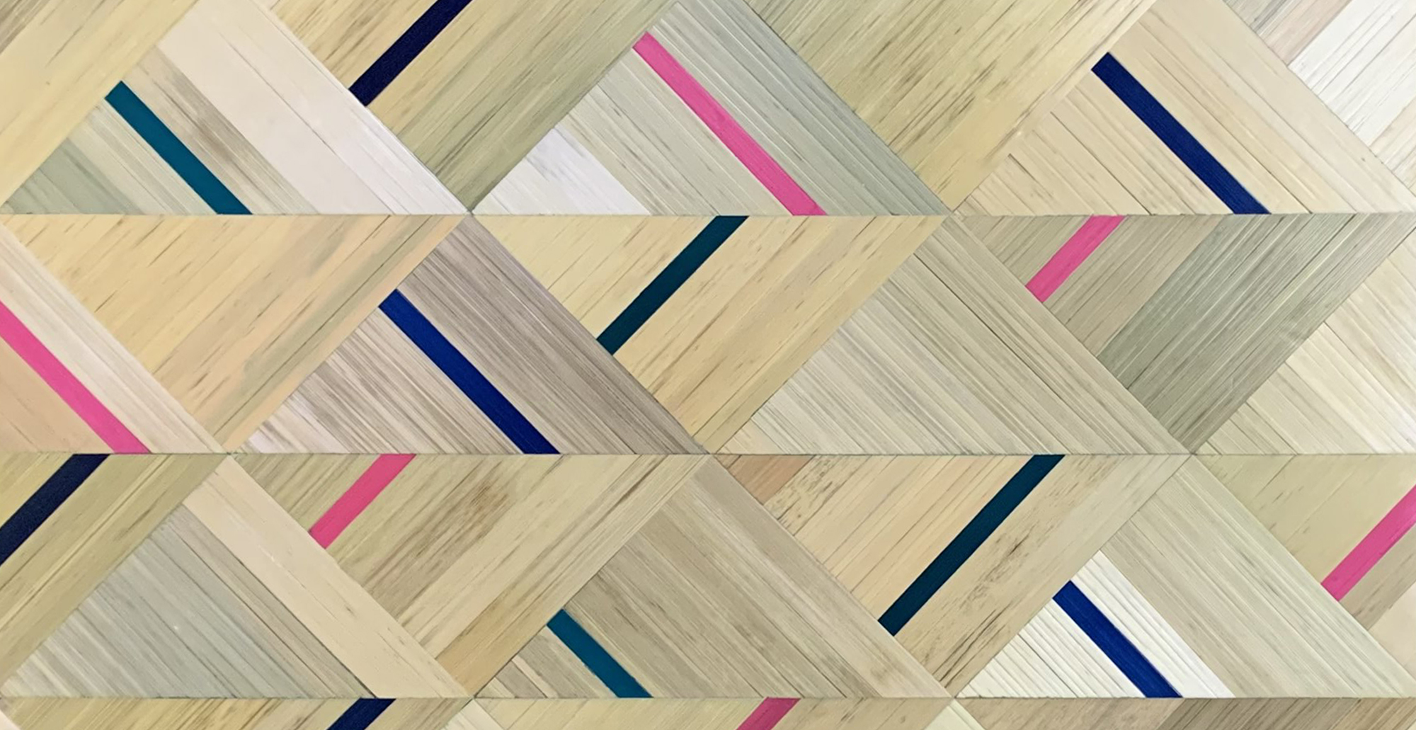 Marquetería de paja. Paneles y murales